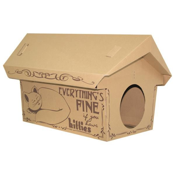 Cardboard Small Animals House